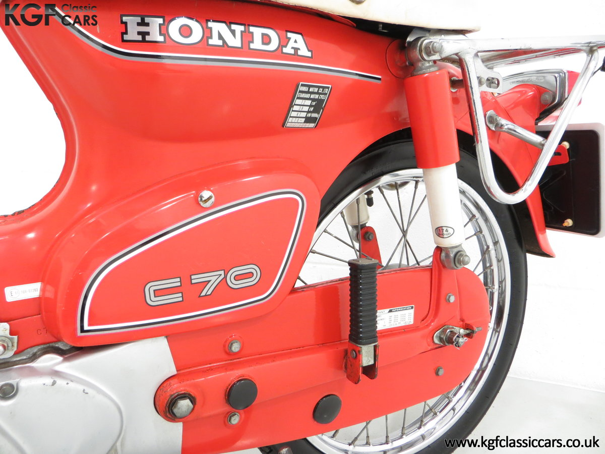 1984 An Original Retro UK Honda C70-C with 3,600 Miles SOLD (picture 6 of 6)
