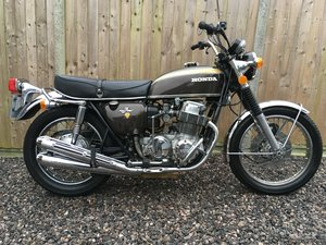 1972 CB750/4 K2 Unrestored original condition