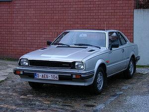1982 HONDA PREUDE MK1  1600cc
