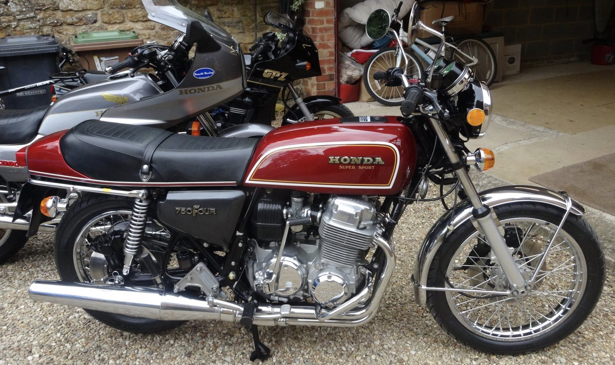 1977 Honda CB 750 F1.Less than 2000 miles from new. For Sale (picture 1 of 4)