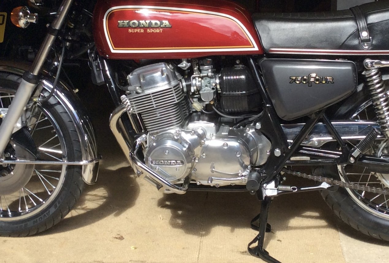 1977 Honda CB 750 F1.Less than 2000 miles from new. For Sale (picture 2 of 4)