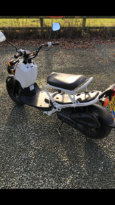 2008 Honda Zoomer  UK bike - low mileage