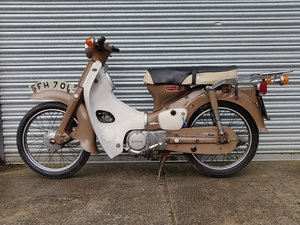 Picture of Honda C90 1973 Unrestored, original condition. SOLD