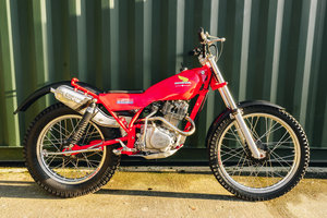 Honda Seeley 200RSC Trials RARE !