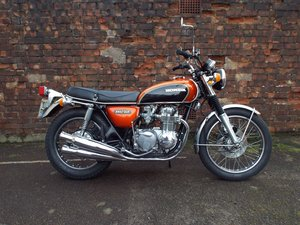 1973 Honda CB550K0 unrestored example