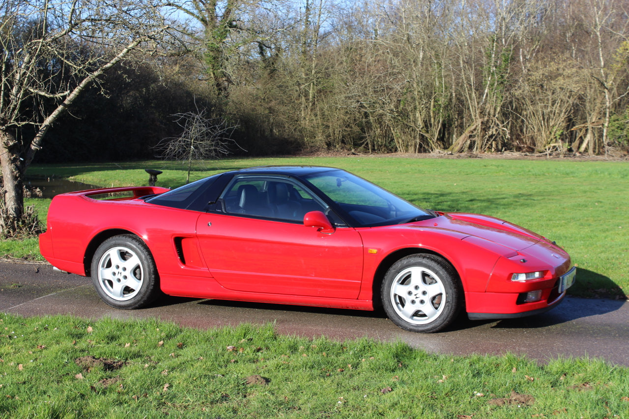 1991 Honda NSX Auto Coupe - UK supplied - Only 26,100 miles For Sale (picture 1 of 6)