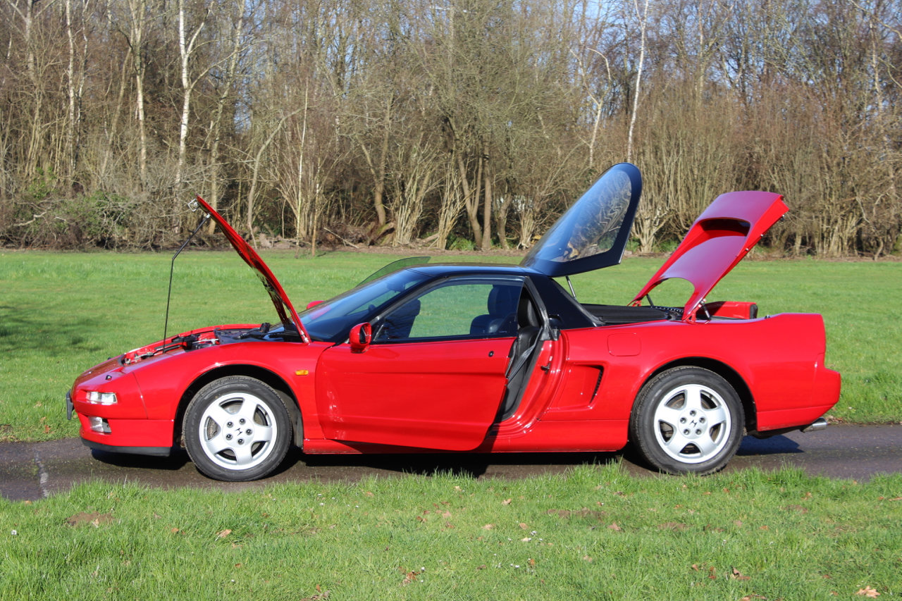 1991 Honda NSX Auto Coupe - UK supplied - Only 26,100 miles For Sale (picture 2 of 6)