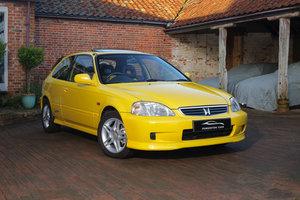1999 Honda Civic Jordan EK4 1.6 VTi-S VTEC Sunlight Yellow UK Car For Sale