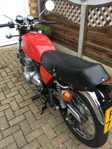 1977 Honda CB400F Red