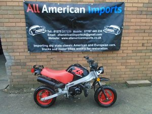 HONDA ZB50 ROAD LEGAL MINI BIKE BLACK!