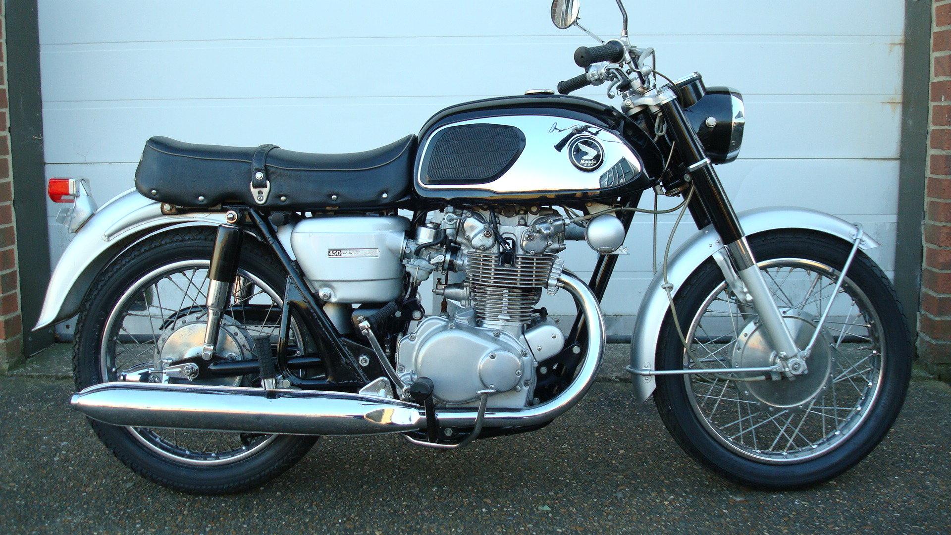 1968 Honda CB 450 K0 BLACK BOMBER 1969-G *UN-RESTORED* For Sale (picture 1 of 6)