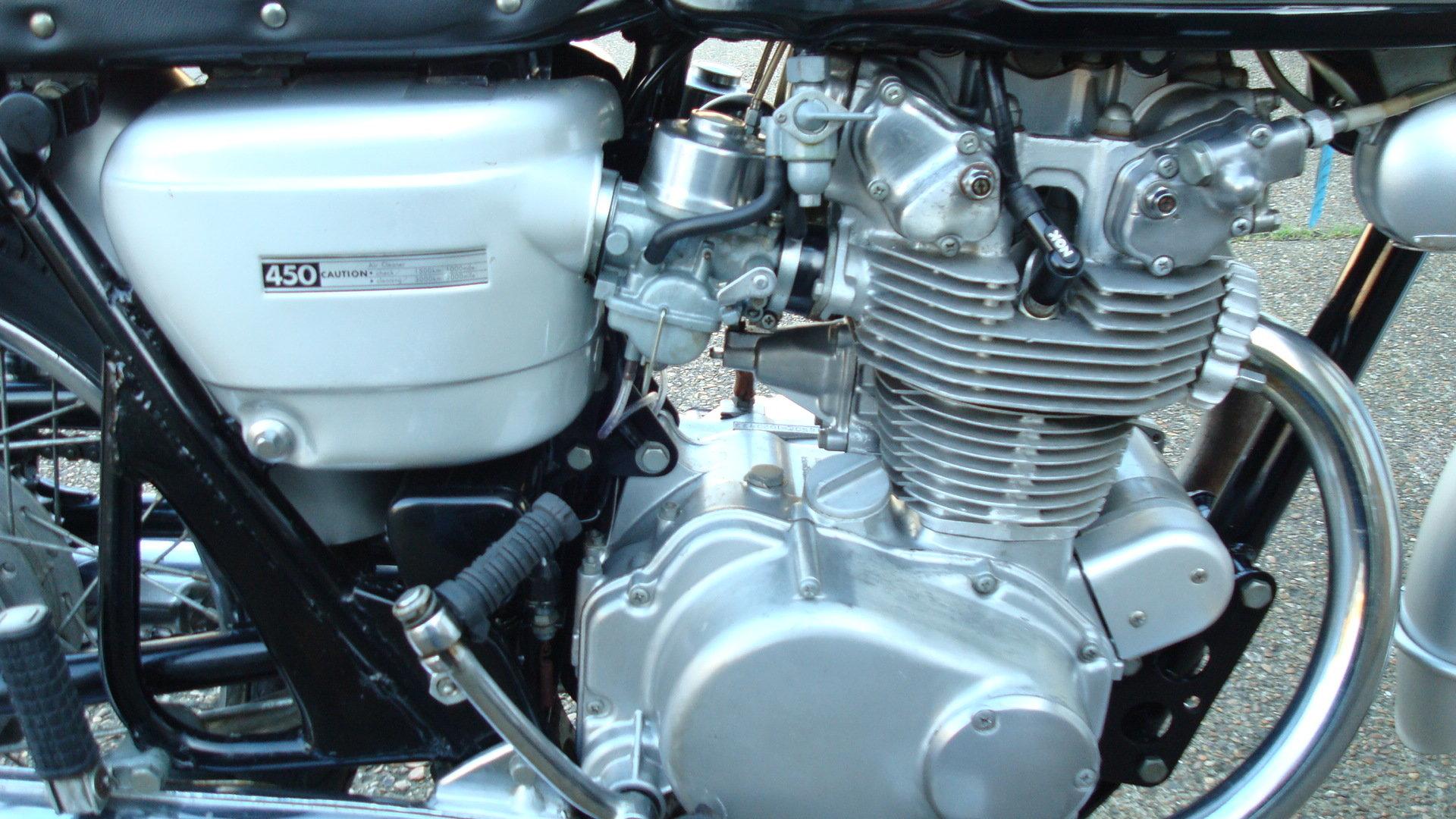 1968 Honda CB 450 K0 BLACK BOMBER 1969-G *UN-RESTORED* For Sale (picture 3 of 6)