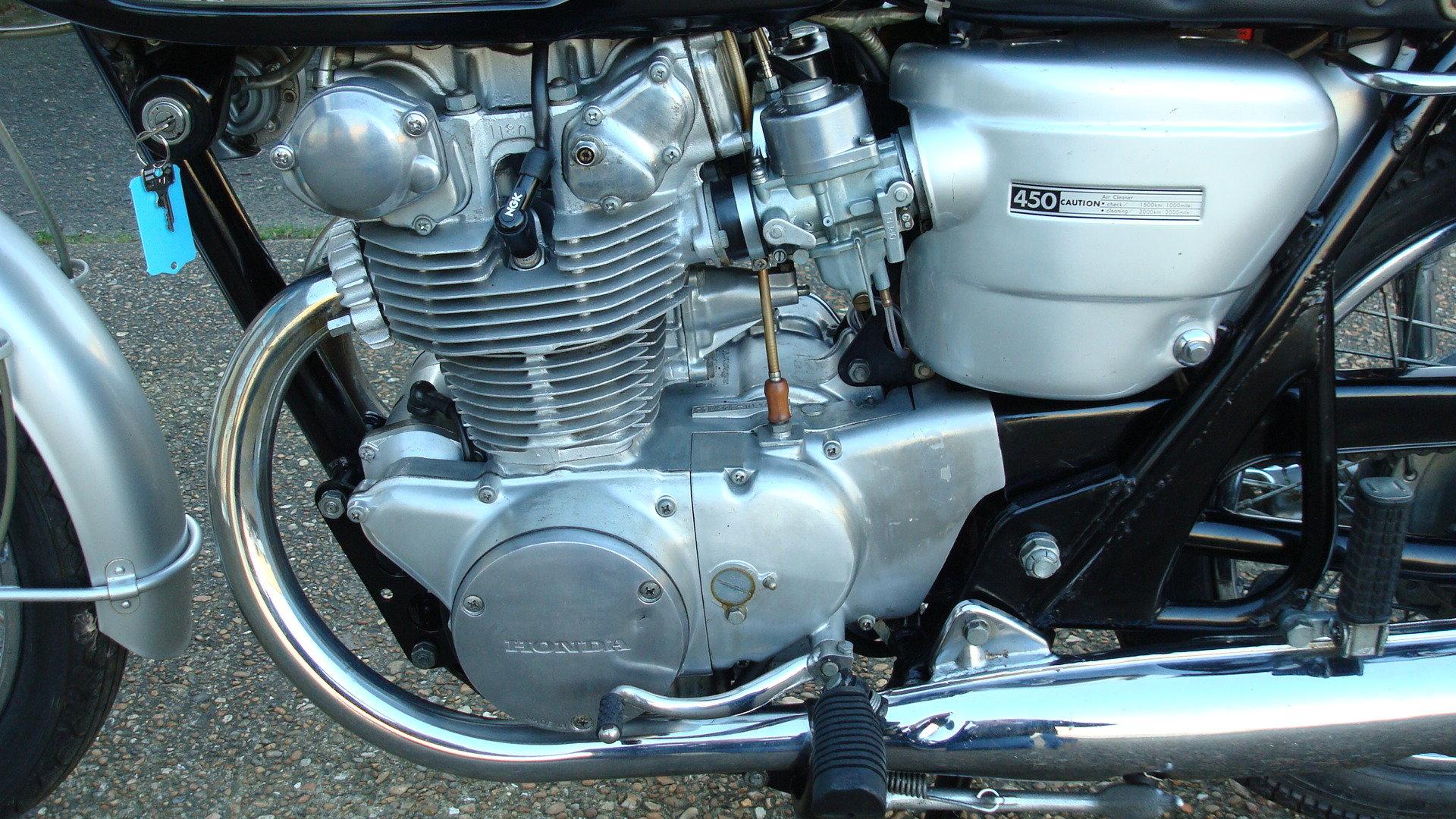 1968 Honda CB 450 K0 BLACK BOMBER 1969-G *UN-RESTORED* For Sale (picture 5 of 6)