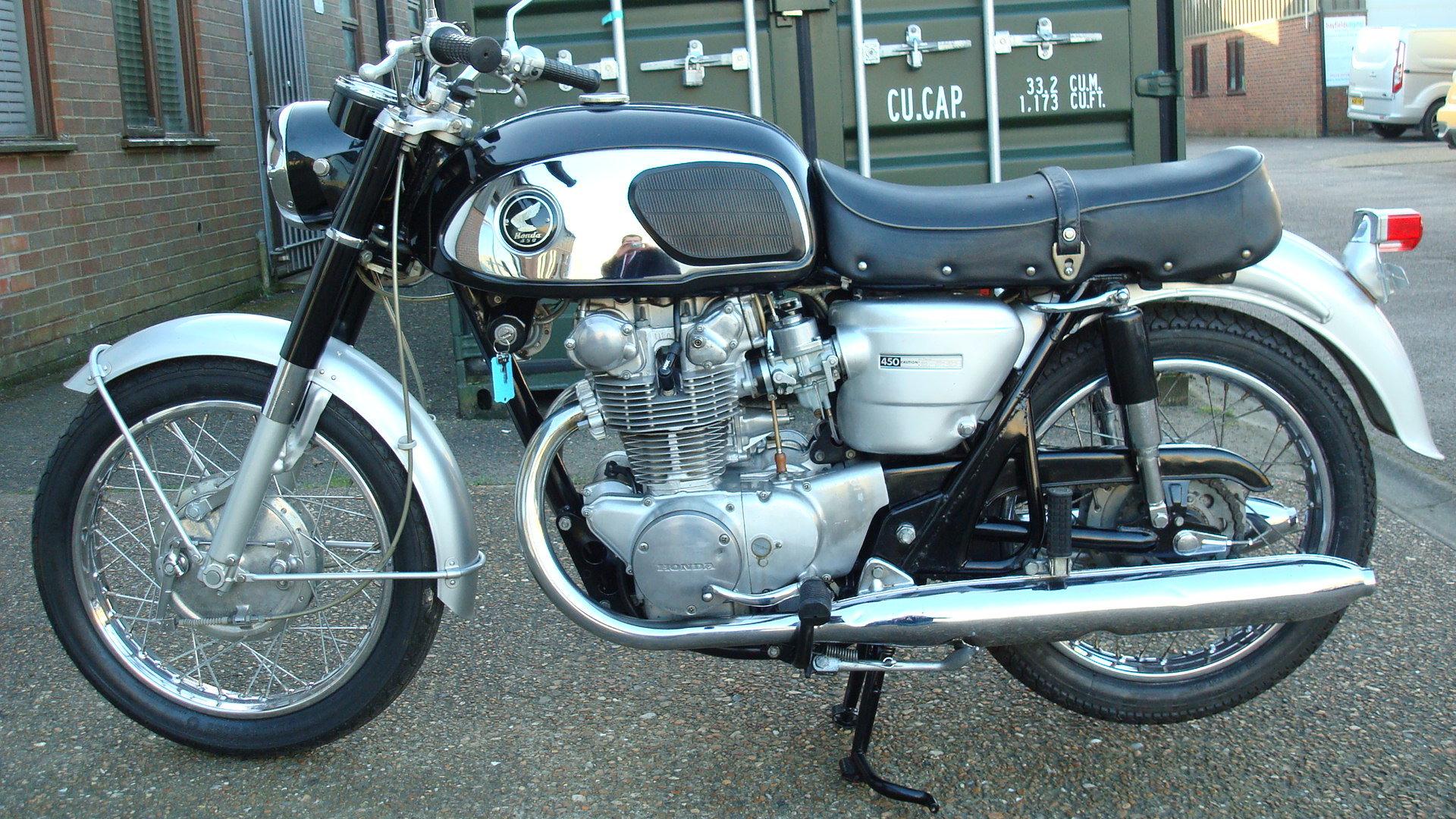 1968 Honda CB 450 K0 BLACK BOMBER 1969-G *UN-RESTORED* For Sale (picture 6 of 6)