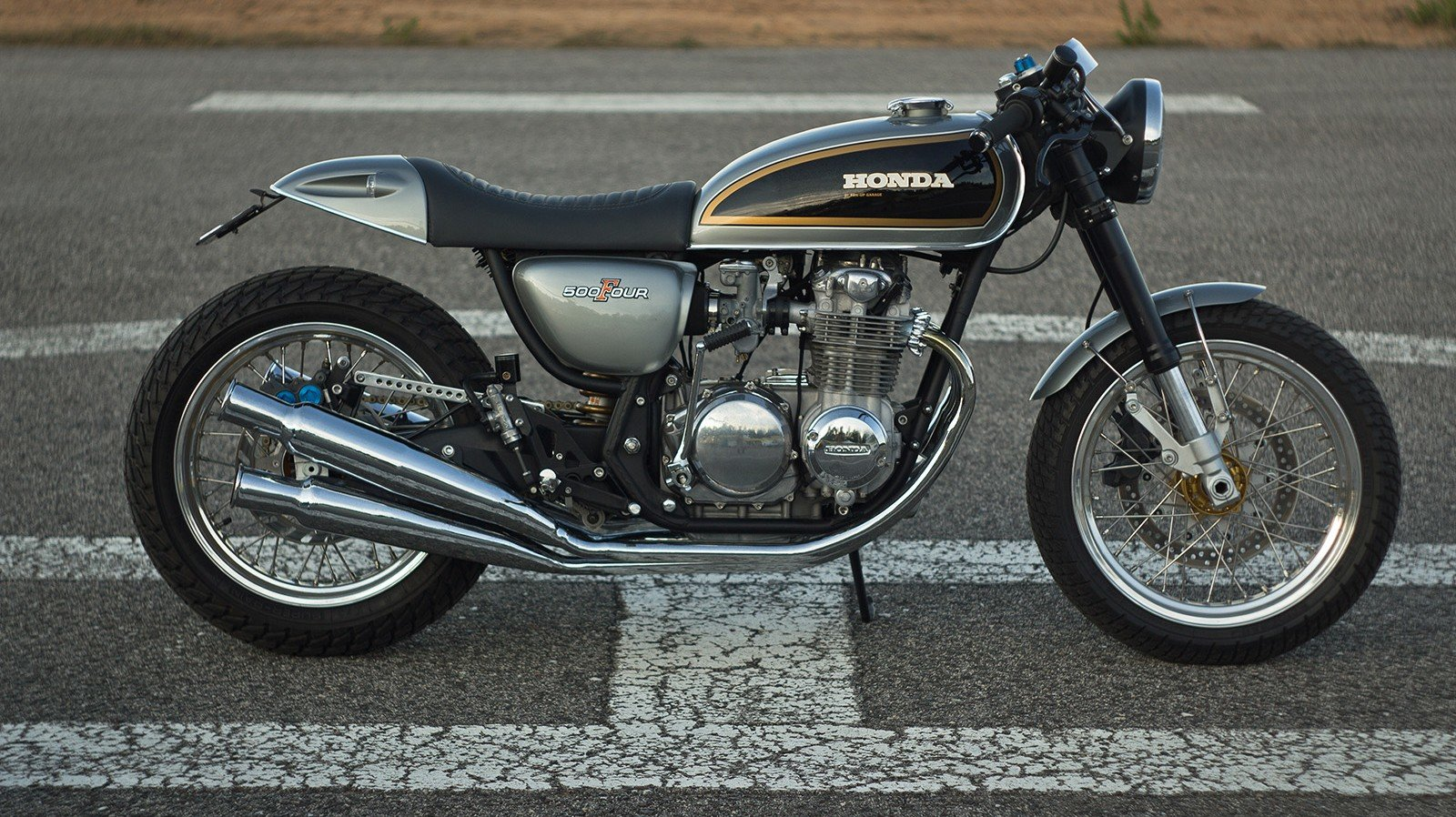 1974 Honda CB 500 Four Tribute by Ton-up Garage For Sale (picture 1 of 6)