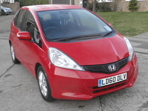 2011 Honda jazz 1.4 es.only 10760 miles,new mot