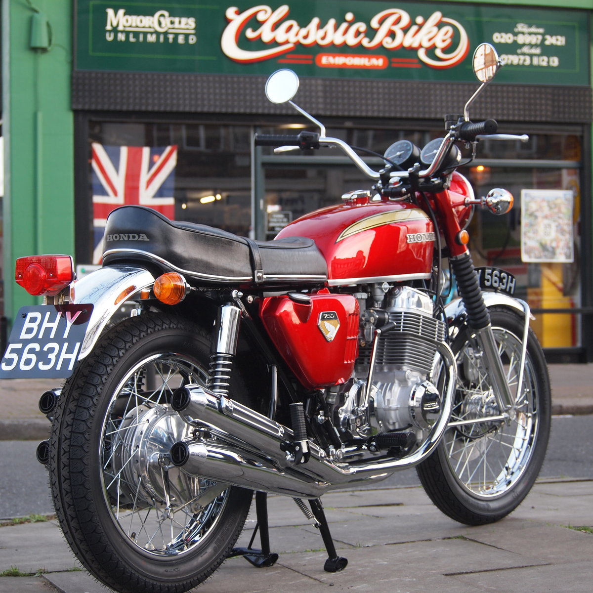 1970 Honda CB750 K0 Just Magnificent. RESERVED FOR ANTHONY SOLD (picture 1 of 6)