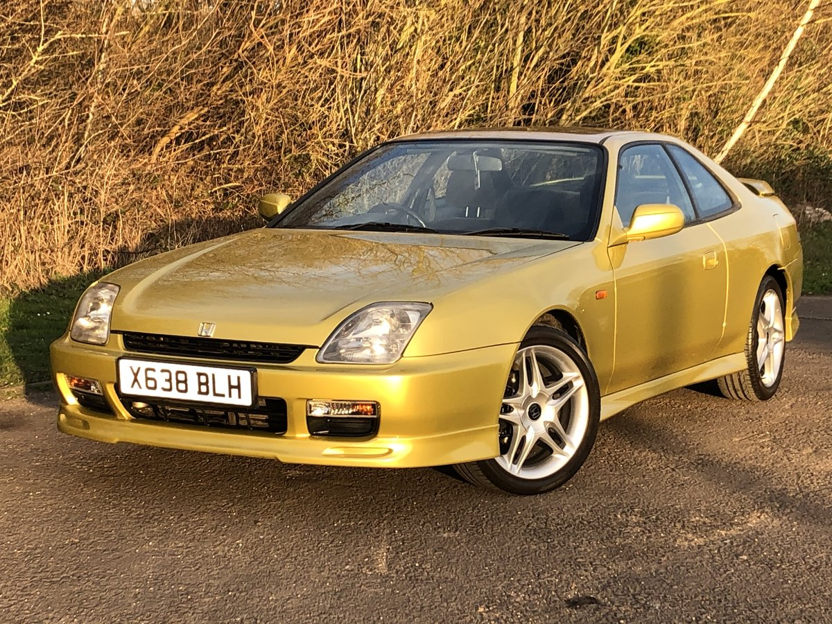 2000 Honda Prelude 2.2i VTEC 4WS Motegi H22A8 Red Top For Sale (picture 1 of 6)