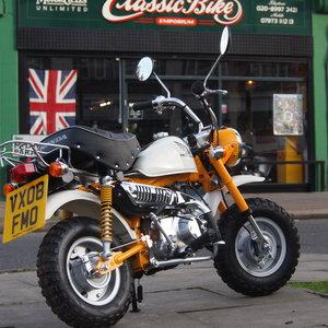 2008 Honda Z50R Monkey Bike, RESERVED FOR DAVID SOLD