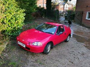 1995 Honda Crx del sol rare AUTO convertable UK spec