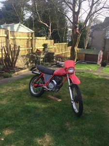 Honda XL185S Classic Now SOLD