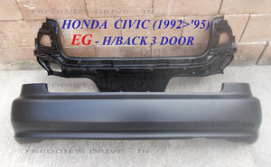1992 Rear Panel and Rear Bumper _ (New)