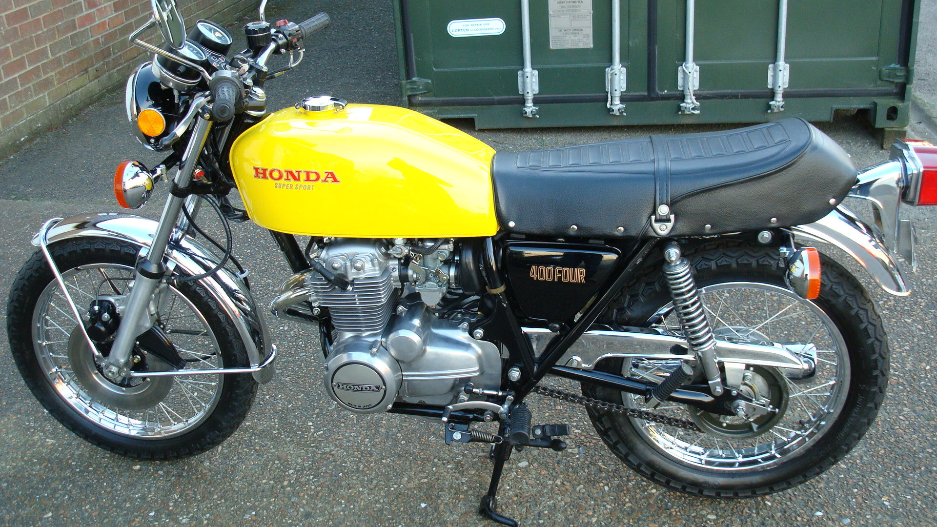 Honda CB 400F FOUR SUPER SPORT 1976-P SOLD (picture 6 of 6)