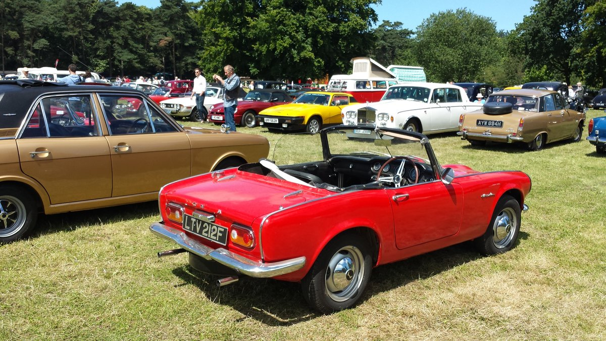 1967 Honda S800 Convertible For Sale (picture 1 of 6)
