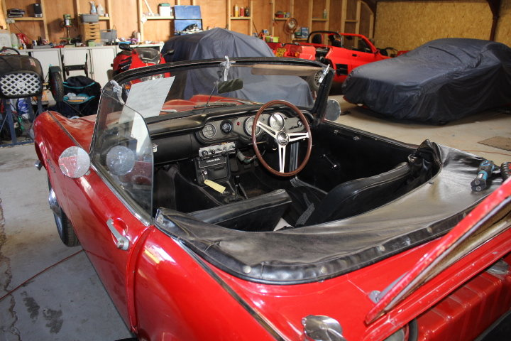 1967 Honda S800 Convertible For Sale (picture 5 of 6)