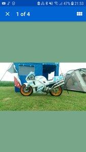 1994 Honda RVF400 NC35 Track bike