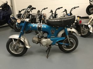 Honda ST70 DAX only 2252 miles from new