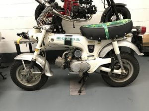 Honda ST70 DAX only 1506 miles from new