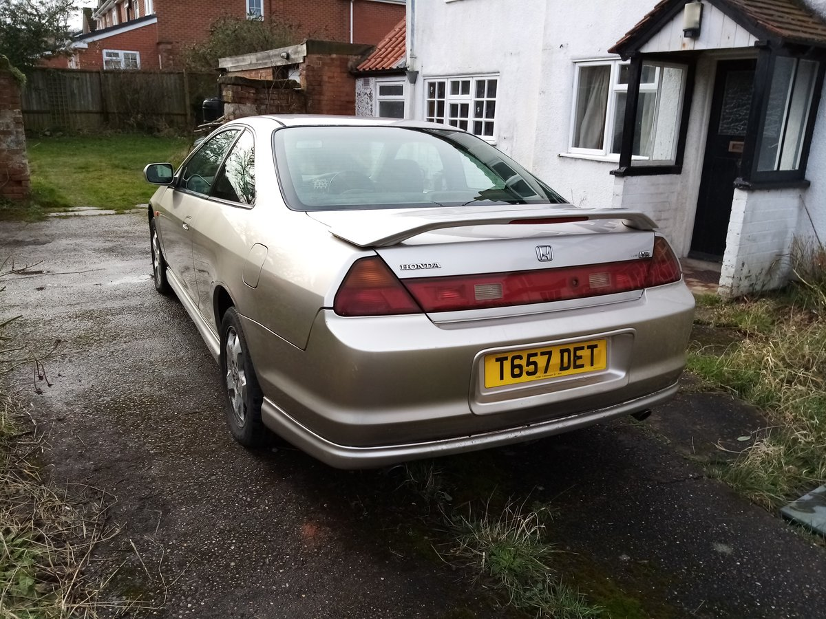 1999 Honda Accord V6 3.0i Coupe ( very rare) For Sale (picture 2 of 3)