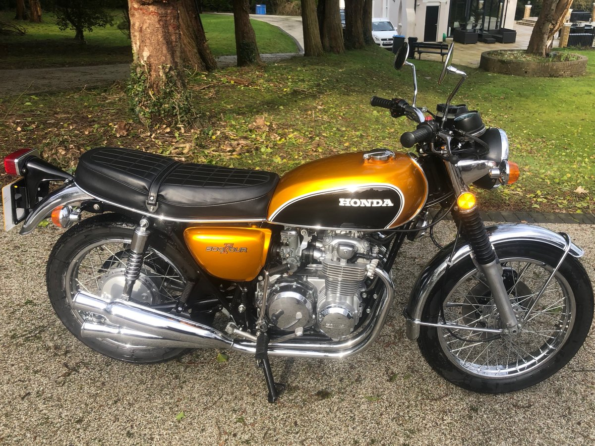 1975 CB500 Four Restored  SOLD (picture 2 of 6)