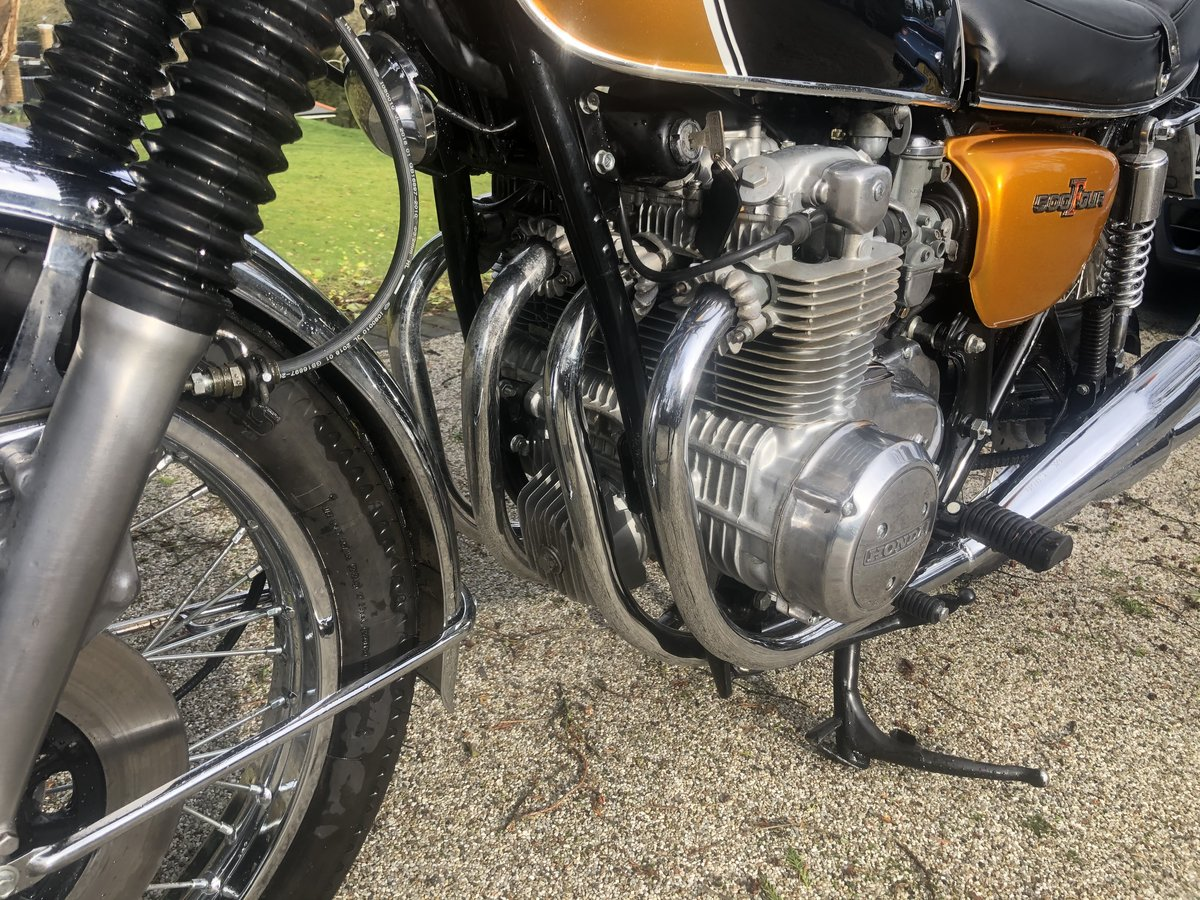 1975 CB500 Four Restored  SOLD (picture 3 of 6)