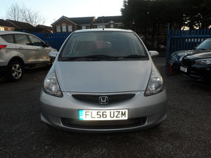 2007 JAZZ MODEL  1400cc PETROL 5 SPEED MANUAL SLIVER 5 DOOR