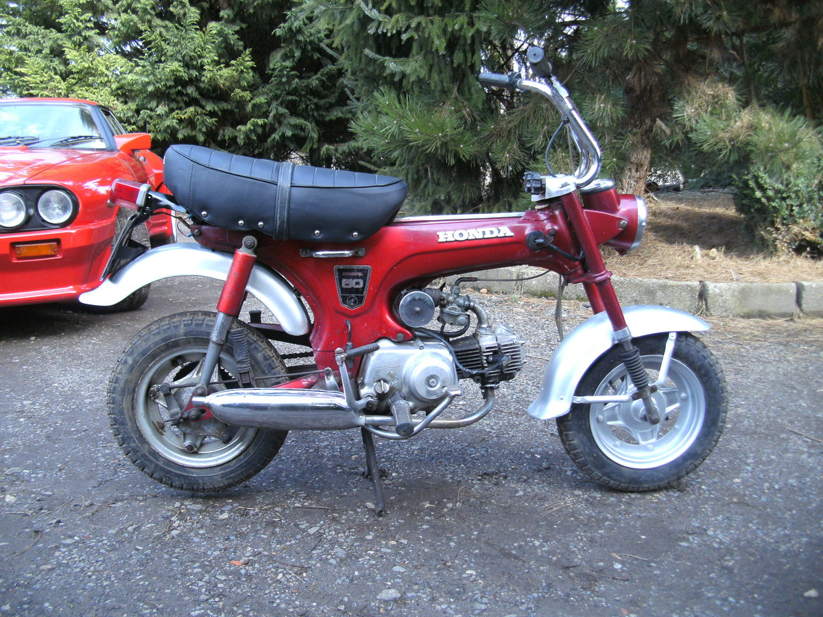 1969 HONDA ST 50 Z  MONKEY BIKE Reduced For Sale (picture 1 of 6)