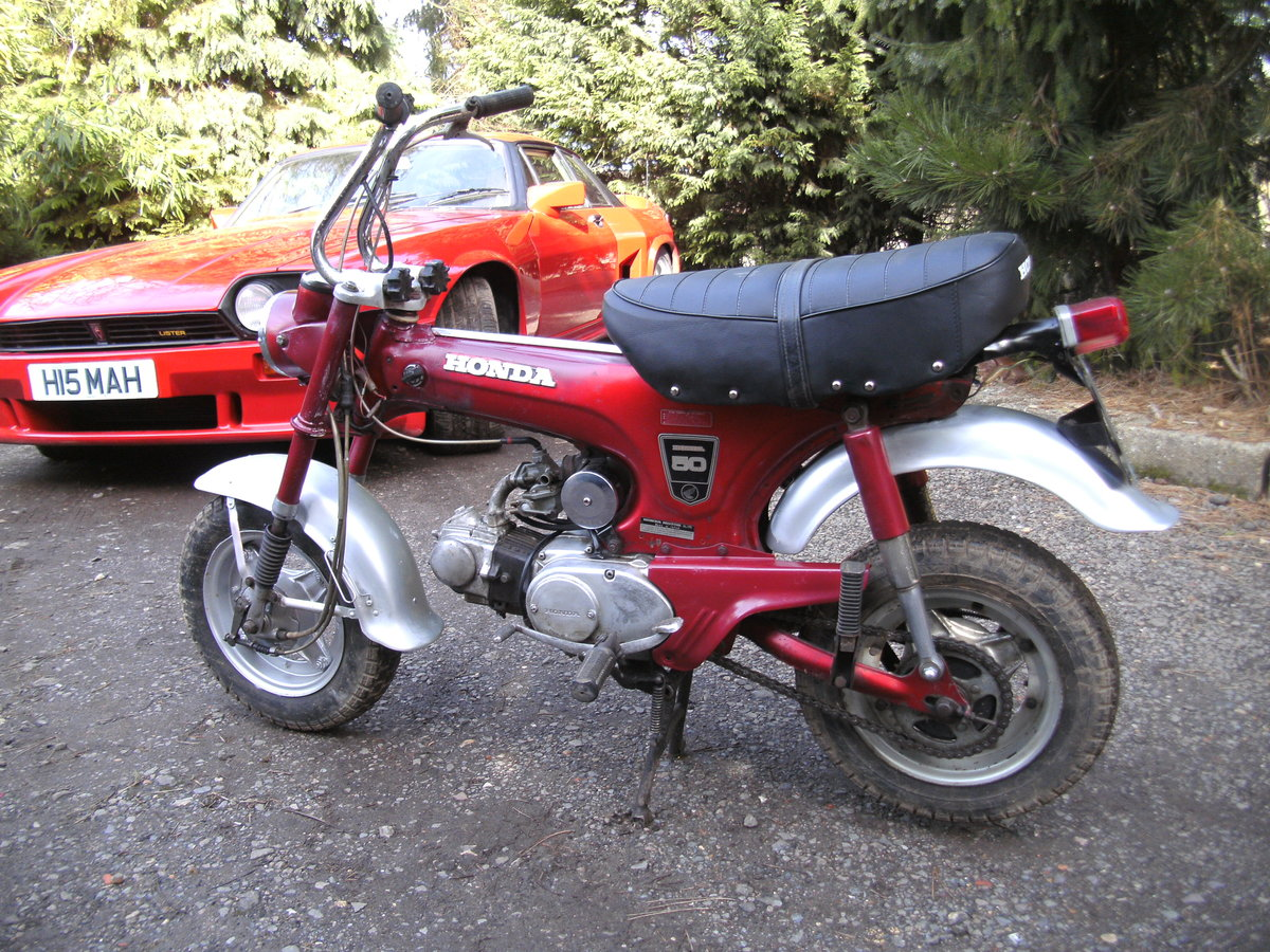 1969 HONDA ST 50 Z  MONKEY BIKE Reduced For Sale (picture 2 of 6)