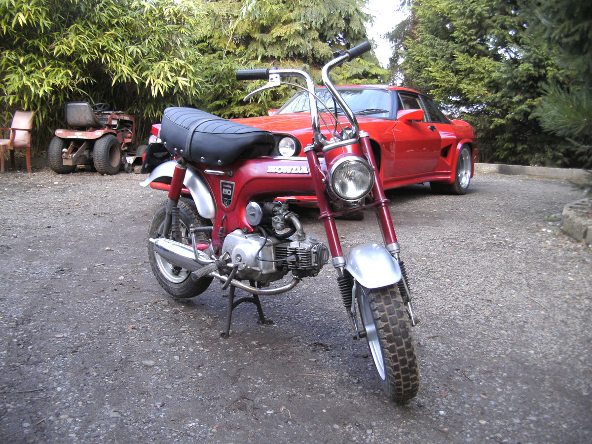 1969 HONDA ST 50 Z  MONKEY BIKE Reduced For Sale (picture 3 of 6)