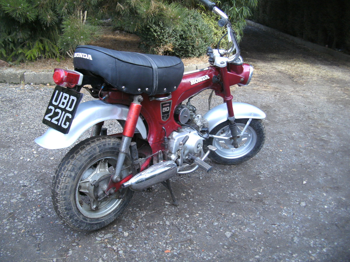 1969 HONDA ST 50 Z  MONKEY BIKE Reduced For Sale (picture 4 of 6)