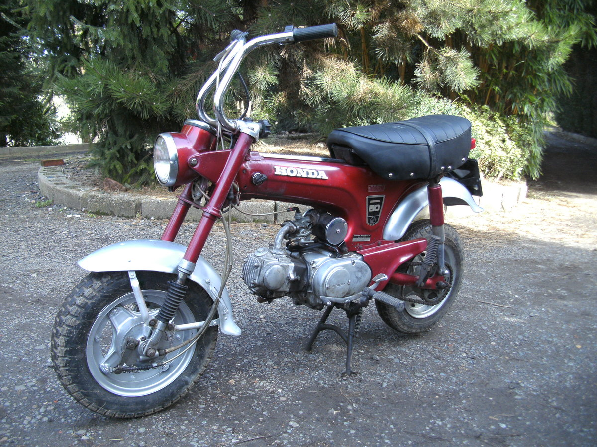 1969 HONDA ST 50 Z  MONKEY BIKE Reduced For Sale (picture 5 of 6)