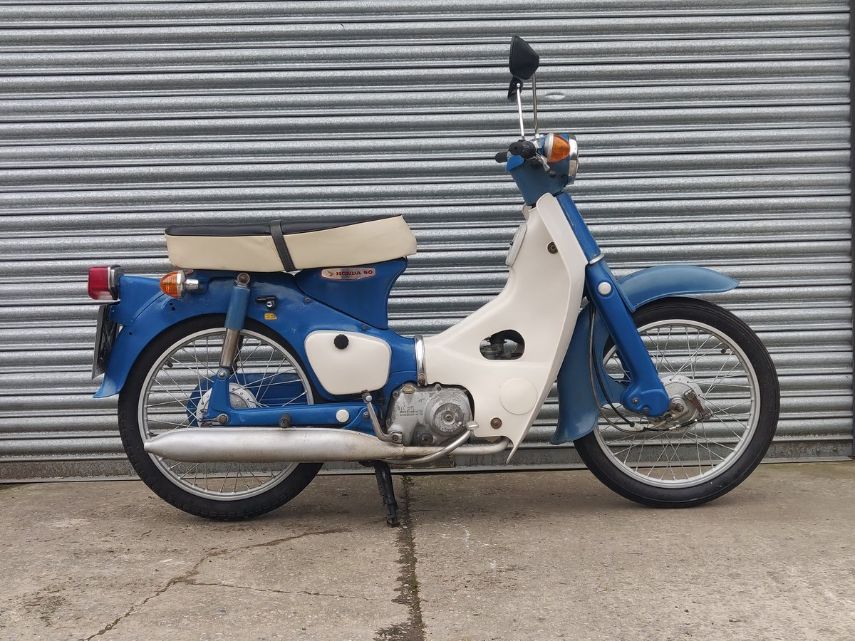 1975 Honda C50  Unrestored For Sale (picture 1 of 11)