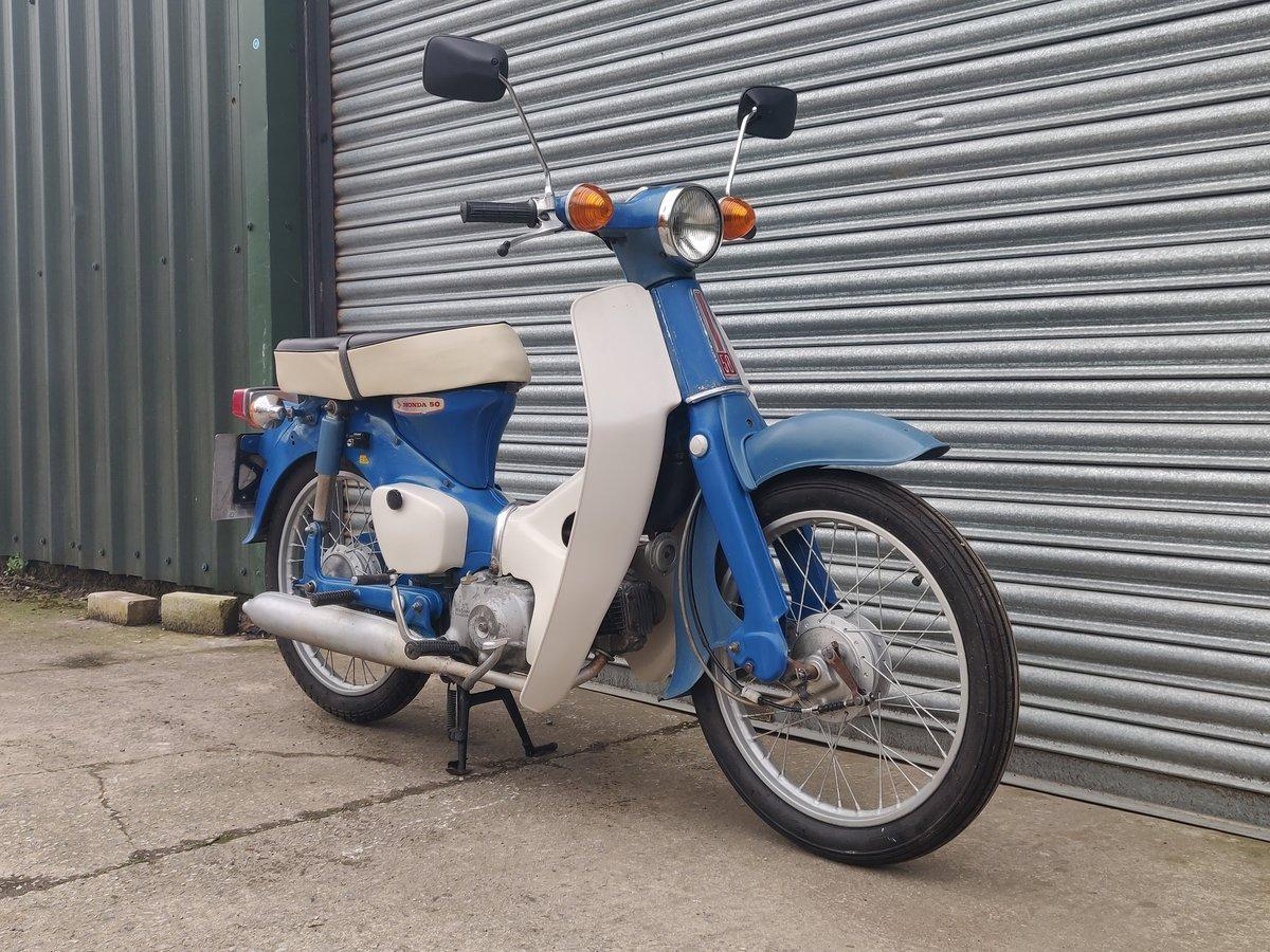 1975 Honda C50  Unrestored For Sale (picture 2 of 11)