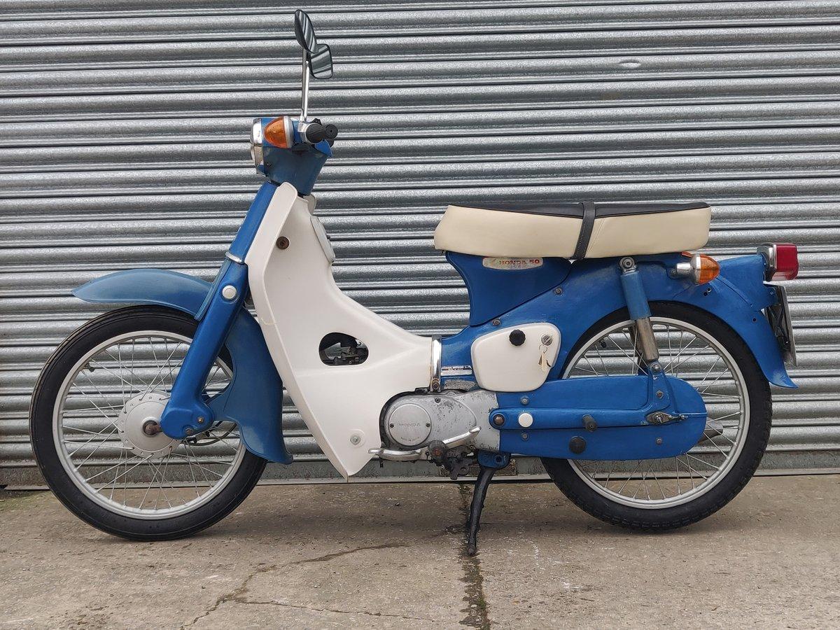 1975 Honda C50  Unrestored For Sale (picture 9 of 11)