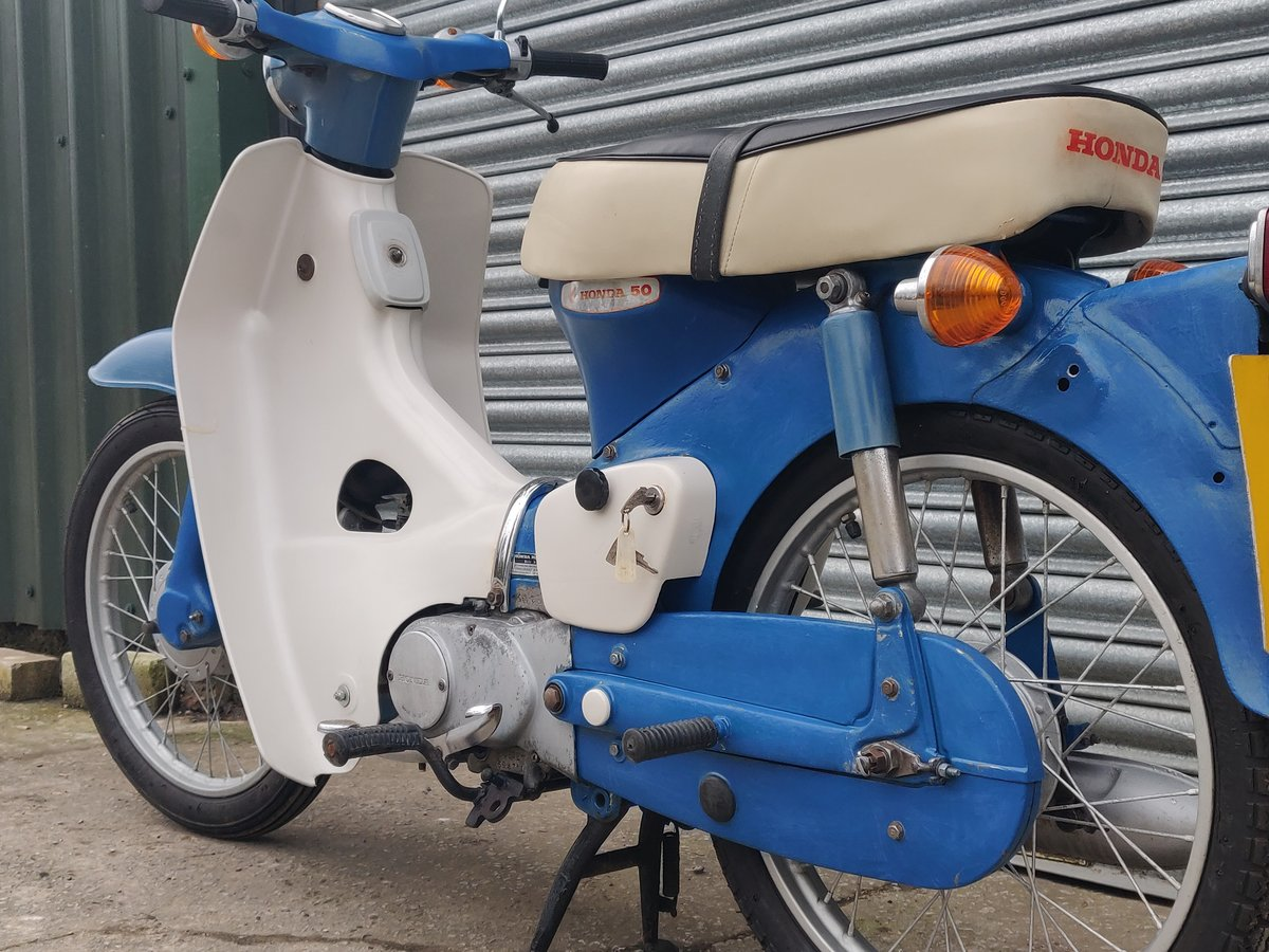 1975 Honda C50  Unrestored For Sale (picture 10 of 11)