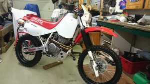 1991 Honda xr600r fully restored