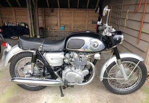 1967 Honda CB450 Black Bomber