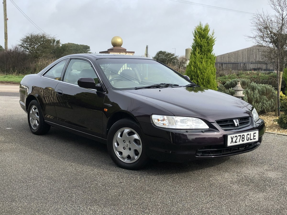 2000 **HONDA ACCORD COUPE 2.0 ES 1 FORMER KEEPER 45,000 MILES!!** For Sale (picture 1 of 6)