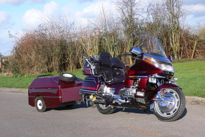 1990 Honda Gold Wing GL1500 with Trailer