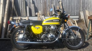 Picture of 1975 CB750 K6 Sulfur Yellow